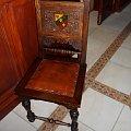 Na takich krzesłach obradują rajcy :) #Kobierzyce #UrządGminy #zabytek
