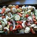 #drób #pieczenie #uda #warzywa