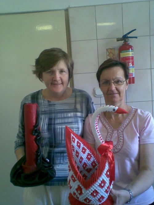Spotkanie z koleżanka z Talencika Mariolą